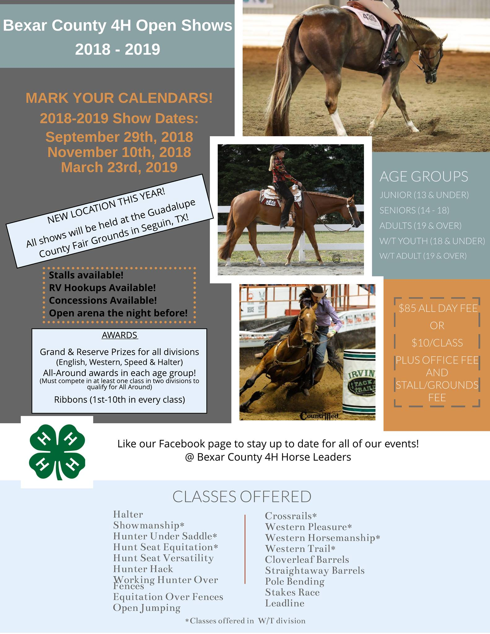 Events| Bexar County 4H Open Show Series #2 Nov  2018