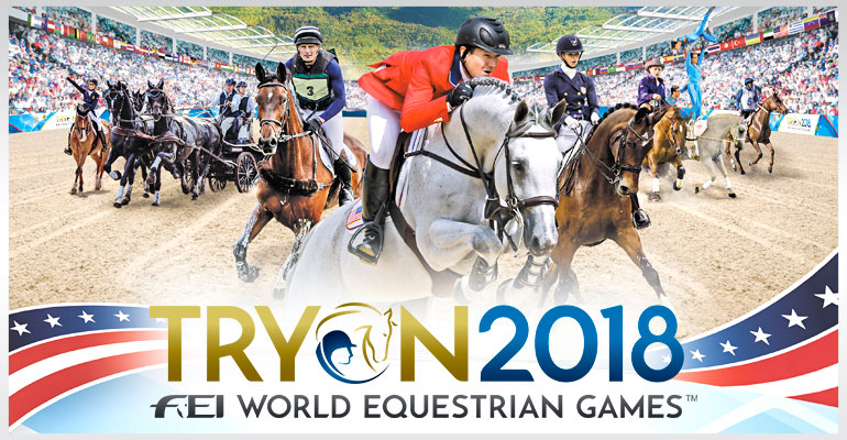 FEI World Equestrian Games™ Tryon 2018 - NBC TV Schedule Starting